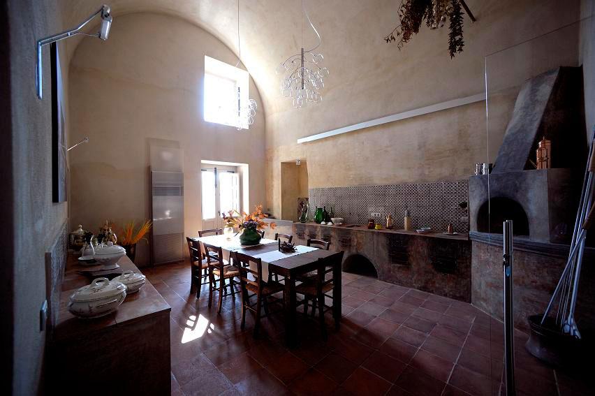 cucina antica villa montesano